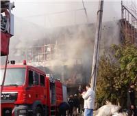 السيطرة على حريق بمزرعة للنخيل في الوادي الجديد