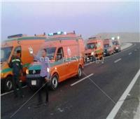 مصرع وإصابة عدد من الأشخاص في حادث تصادم بسوهاج