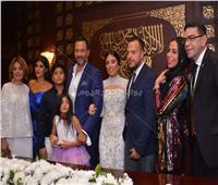صور| ماجد المصري يحتفل بعقد قران ابنه
