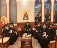 أحبار الكنيسة يهنئون البابا تواضروس بالعيد