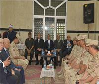 محافظ أسيوط وقائد المنطقة الجنوبية العسكرية يؤديان واجب العزاء لمحافظ القاهرة