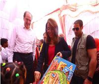 صور| وزيرة التضامن: تكافل وكرامة حقق تأثيرا إيجابيًا على الأسر في مصر
