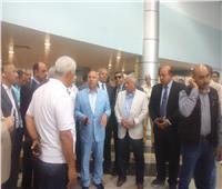 وزير النقل يتفقد ميناء طابا البري ويؤكد تنفيذ خطة لرفع كفاءة الموانئ البرية