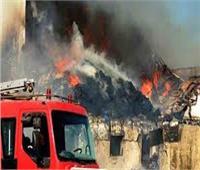 السيطرة على حريق مصنع «أقلام» بمدينة بدر