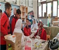 «صحة الوادي الجديد» تنتهي من مسح 12 ألف طالب إعدادي بـ«100 مليون صحة»