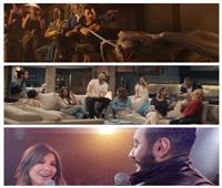 «تنين» رمضان في مواجهة ذكريات عمرو وتامر «حرب الإعلانات تشتعل»