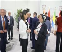 ياسمين فؤاد تؤكد على أهمية رفع التزامات الدول الكبرى للحفاظ على البيئة