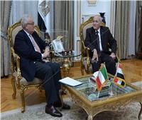 بالصور.. العصار يستقبل السفير الإيطالي بالقاهرة لبحث سبل التعاون المشترك