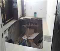 بدء التحقيقات في انهيار مبنى تابع لمحافظة الإسكندرية