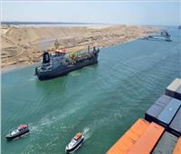 عبور 55 سفينة قناة السويس بحمولات 6ر4 مليون طن
