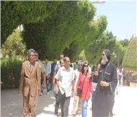 جولة سياحية لسفير الهند بمسار العائلة المقدسة