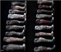 صور وفيديو| المتحف البرازيلي يرمم 200 قطعة أثرية مصرية