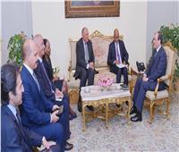 ننشر تفاصيل لقاء الرئيس السيسى بمدير «نيباد»