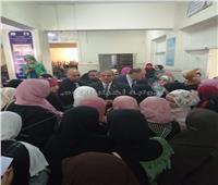 صور| المحرصاوي يتفقد امتحانات الشفهي بالدراسات الإسلامية والعربية للبنات
