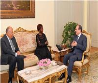 السيسي لـ«سكرتير منظمة الفرانكفونية»: مصر مُستعدة لتقديم الخبرات لدعم القارة الأفريقية