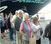 وصول 335 سائحا على متن السفينة «سيلفر شادو» إلى ميناء بورسعيد
