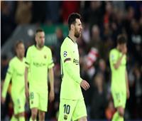 رد فعل صادم من «ميسي» عقب الهزيمة المذلة أمام ليفربول