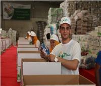 الأورمان توزع كراتين مواد غذائية على 15 ألف أسرة بقرى الغربية
