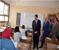محافظ القليوبية يتابع سير امتحانات الشهادة الإعدادية