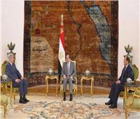 الرئيس السيسي يؤكد لـ«حفتر» دعم مصر لجهود مكافحة الإرهاب في ليبيا