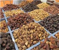 أسعار البلح وأنواعه بسوق العبور في سادس أيام رمضان