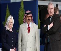 صور| «الفروسية»..هواية تجمع الملكة إليزابيث وملك البحرين