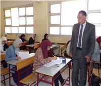 استبعاد رئيس لجنة و50% من الملاحظين بامتحانات إعدادية دمياط
