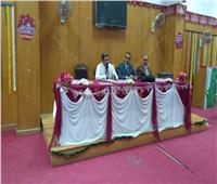 عميد آداب الفيوم يعقد لقاء مفتوحا مع أعضاء هيئة التدريس بالكلية