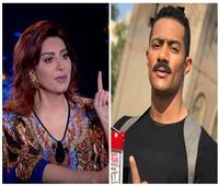 فيديو| وفاء عامر توجه رسالة لـ«محمد رمضان» بشأن مشهدهما المحذوف
