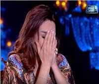 فيديو| وفاء عامر تنهار في البكاء أمام «شيخ الحارة».. وهذا السبب