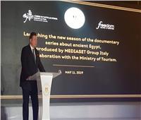 إعلامي إيطالي: نسعى لإبراز جمال الحضارة المصرية ..صور