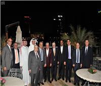 السفير السعودي بالقاهرة يقيم حفل إفطار لعدد من الوزراء