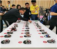 """بالصور.. انطلاق مسابقة """"مايكروماوس"""" العالمية للروبوتات بالصين"""