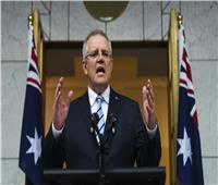 رئيس وزراء أستراليا يطلق الحملة الانتخابية لحزبه قبل أيام من الاقتراع