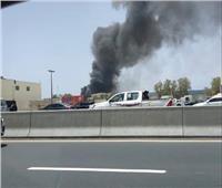 نشوب حريق في دبي دون وقوع خسائر بشرية