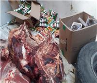 ضبط لحوم ومواد غذائية فاسدة بمراكز طما والمراغة وحى غرب سوهاج