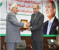 تكريم جامعة المنصورة لدورها في نجاح مبادرة 100 مليون صحة