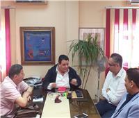 خالد جلال يعقد اجتماعًا مع قيادات الجهات التابعة لقطاع الإنتاج