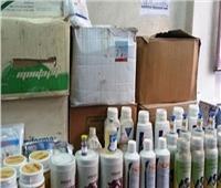 ضبط 17 ألف عبوة من المبيدات الزراعية غير صالحة بالإسكندرية