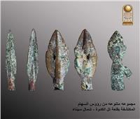 الكشف عن بقايا أبراج قلعة عسكرية من عصر بسماتيك الأول بشمال سيناء