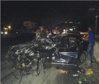 مصرع سيدتين وإصابة آخر في حادث بالطريق الصحراوي