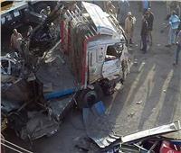 مصرع 3 أشخاص بسبب سيارة نقل بدار السلام