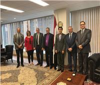 رئيس الطائفة الإنجيلية ينهي زيارته للولايات المتحدة بلقاء القنصل المصري