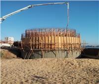 محافظ البحيرة: البدء في إنشاء محطة مياة الرحمانية الجديدة