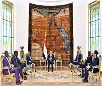 السيسي: مصر تدعم السلام بالسودان لمساعدته على إنهاء المرحلة الانتقالية بنجاح