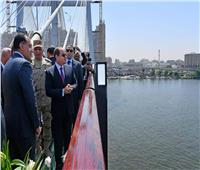 شرايين الأمل.. الرئيس يفتتح عددا من المشروعات في مجال الطرق والكباري