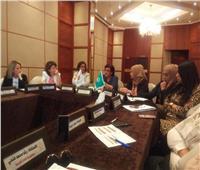بدء فعاليات اليوم الثاني للدورة التثقيفية لمنظمة المرأة العربية
