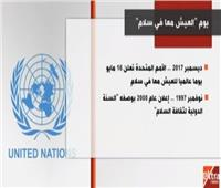 فيديو| الأمم المتحدة تحتفل بيوم السلام العالمي