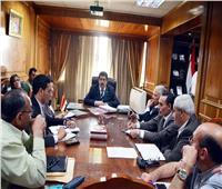 محافظ القليوبية يعقد اجتماعا لمتابعة إزالات التعديات على الأراضي الزراعية