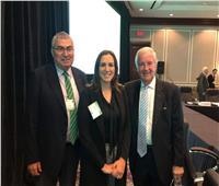 رانيا علواني تشارك في اجتماعات مجلس إدارة الـ (WADA) بكندا
